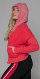 Twenty Montréal Pride Terry Hooded Zip Up Poppy Red