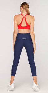 Lorna Jane Superior Support Sports Bra Paprika