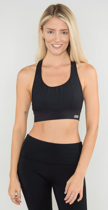 Lorna Jane Down Town Sports Bra Black