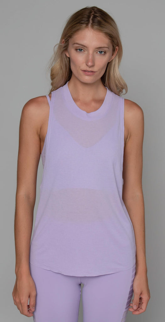 Alo Yoga Heat Wave Tank Ultraviolet