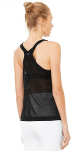 Alo Yoga Shape Tank Black