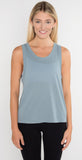 Alo Yoga Model Tank Blue Haze