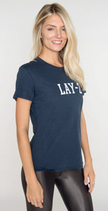Sub_Urban Riot Lay-Z Loose Tee Navy