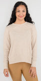 Alo Yoga Glimpse Long Sleeve Putty Heather
