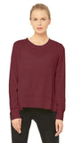 Alo Yoga Glimpse Long Sleeve black Cherry