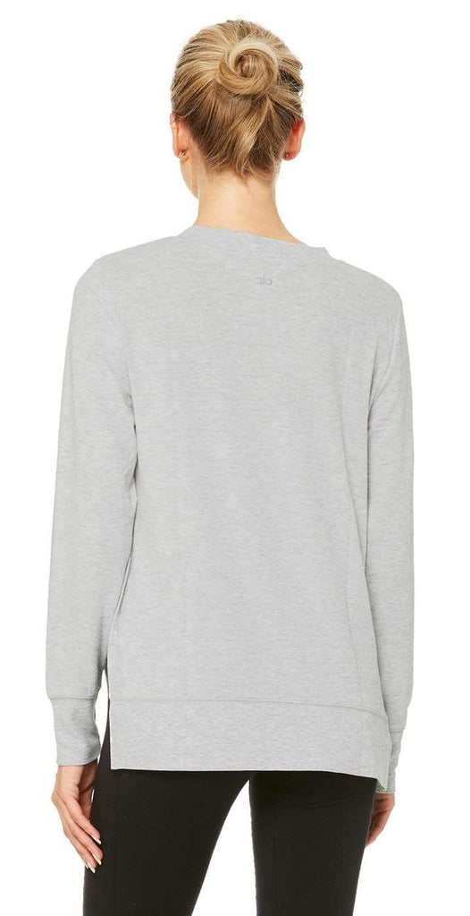 Alo Yoga Glimpse Long Sleeve Dove Grey