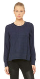 Alo Yoga Glimpse Long Sleeve Navy Heather