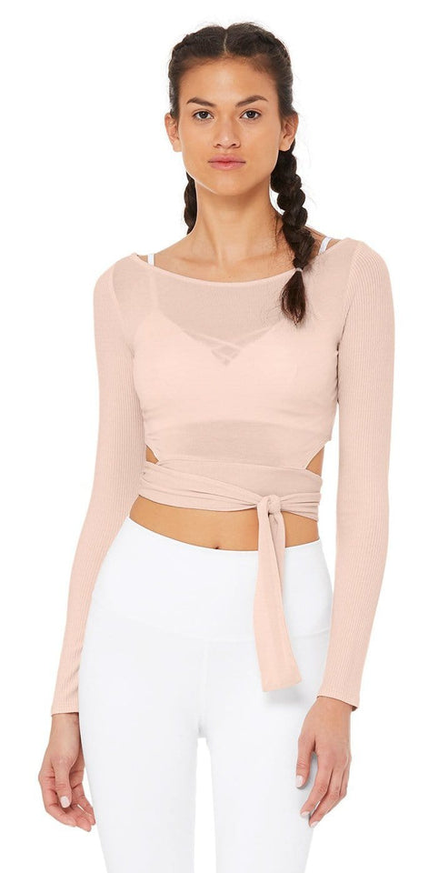 Barre Long Sleeved Top