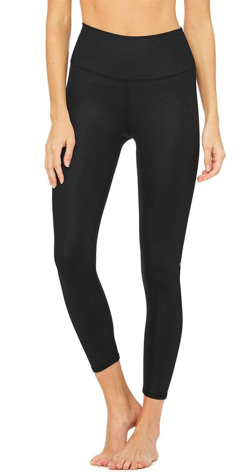 Alo Yoga High-Waist 7/8 Airbrush Legging Black