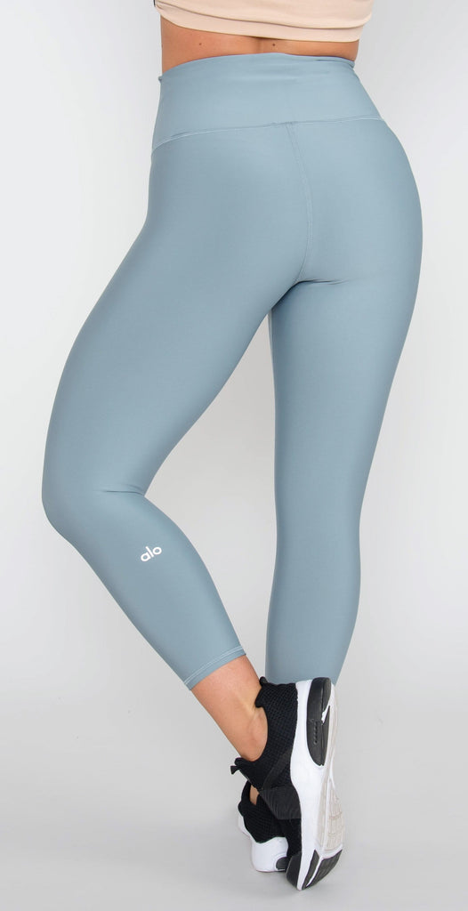 Alo Yoga High-Waist Airlift Capri Blue Haze