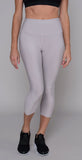 Alo Yoga High-Waist Airlift Capri Lavender Cloud