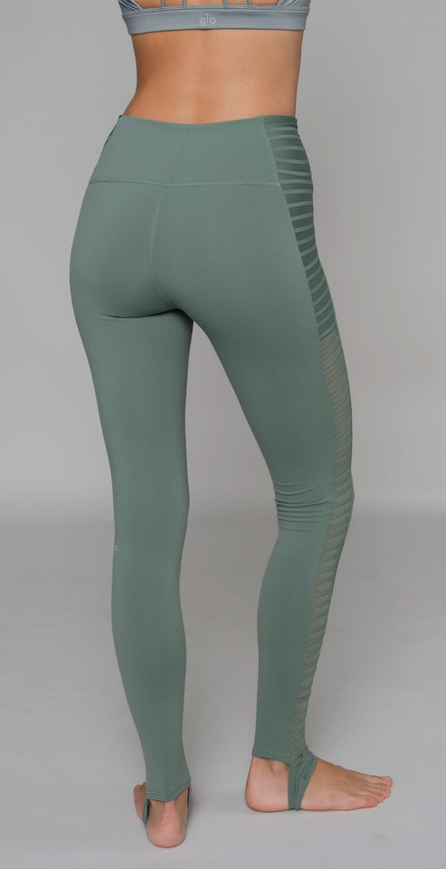 Alo Yoga High-Waist Prism Legging moss