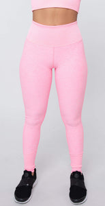 Alo Yoga High Waist Lounge Legging Macaron Pink Heather