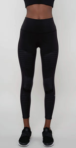 Alo Yoga 7/8 High Waist Moto Legging Black