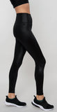 Alo Yoga 7/8 High Waist Shine Legging Black Shine