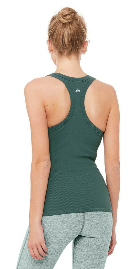 Alo Yoga Rib Support Tank Seagrass