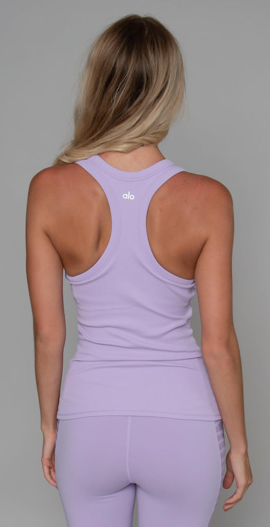 Alo Yoga Rib Support Tank Ultraviolet
