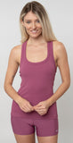 Alo Yoga Rib Support Tank Dragonfruit