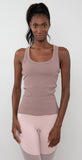 Alo Yoga Rib Support Tank Smoky Quartz