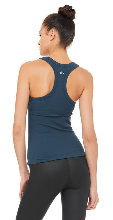 Alo Yoga Rib Support Tank Eclipse