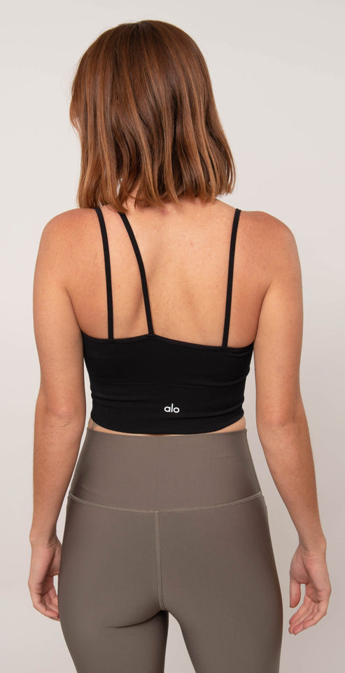Alo Yoga Offset Bralette Black