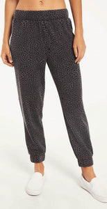 Z Supply Cadence Stardust Jogger Charcoal Star