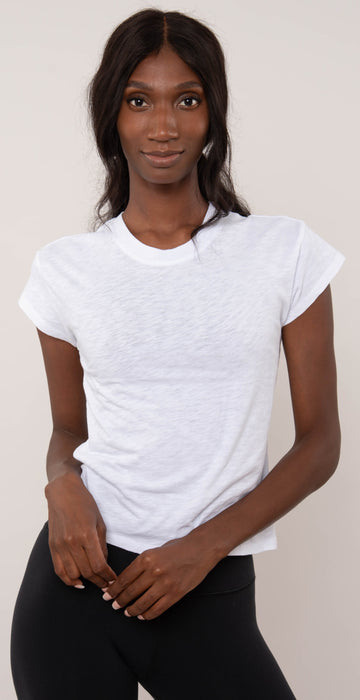 Z Supply Modern Slub Tee White
