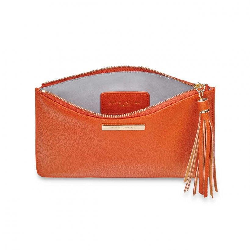 Katie Loxton Tassel Pouch Burnt Orange