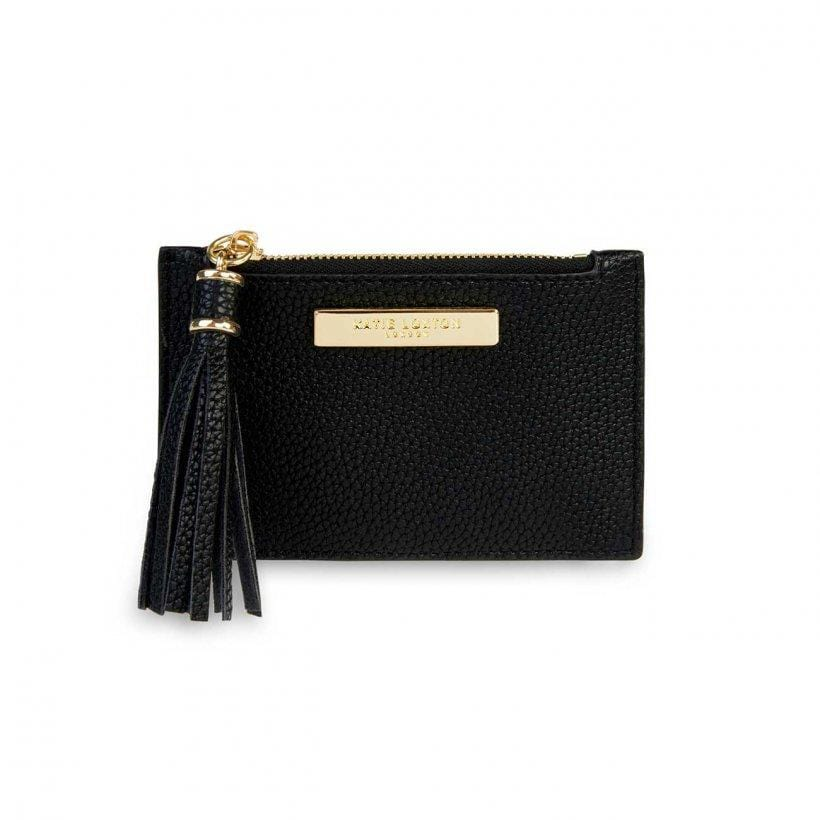 Katie Loxton Tassel Card Holder Black