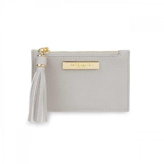 Katie Loxton Tassel Card Holder Stone