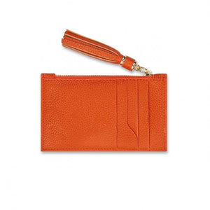 Katie Loxton Tassel Card Holder Burnt Orange