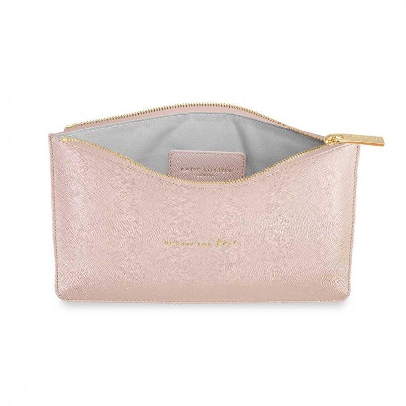 Katie Loxton Perfect Pouch Hooray For Rose Pink