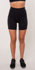 Catleya High Waist Pocket Shorts Black