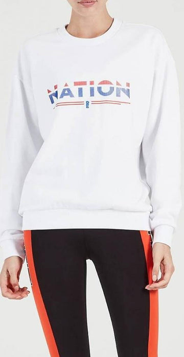 P.E Nation Attacker Sweat White