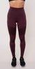 Alo Yoga High-Waist Moto Legging Oxblood