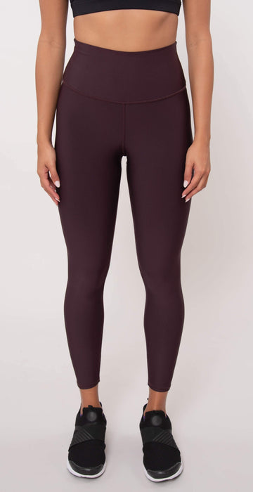 Alo Yoga 7/8 High Waist Airlift Legging Oxblood