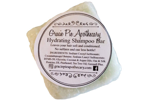 Hydrating Shampoo Bar in Tea Tree
