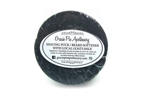 Shaving Puck and Beard Softener