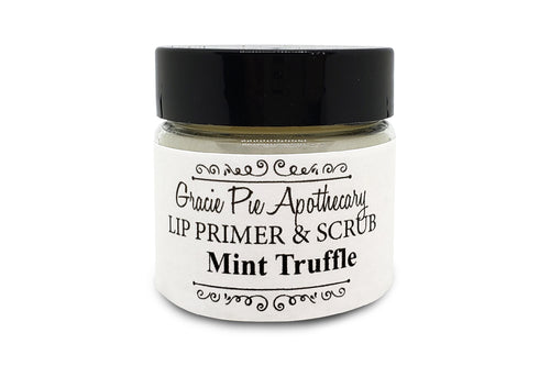 Mint Truffle Lip Primer and Scrub