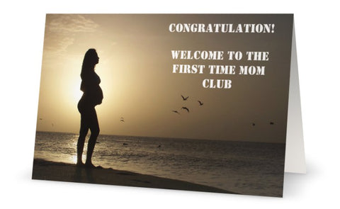 Congratulations First Time Mom Digital Download
