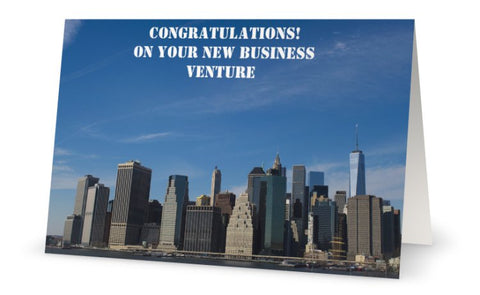 Congratulation On Your New Business Venture Digital Download