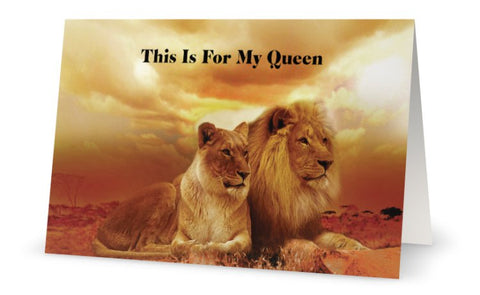 This Is For My Queen Instant Digital Download