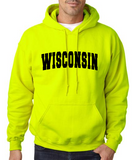 18500- WISCONSIN HOODED SWEATSHIRT #2