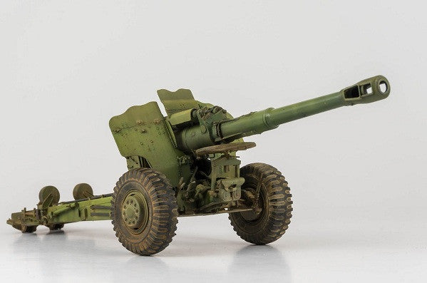 DETAILED IMAGES OF THE TRUMPETER 152MM SOVIET HOWITZER D-20