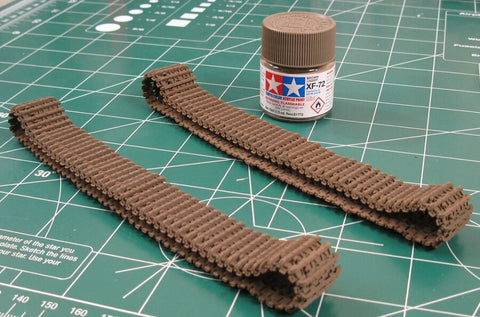 After market scale model tank tracks