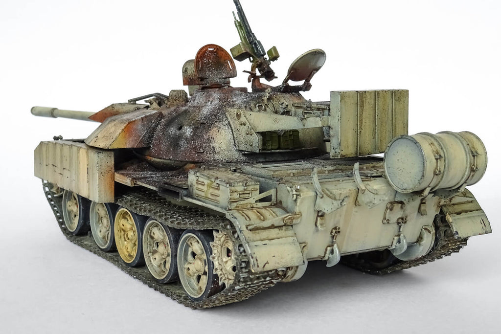 1/35 scale T-55 Enigma Build