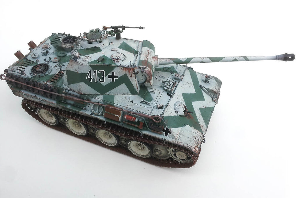 Panzer Models Blog Bruno Capeller Panther Tank