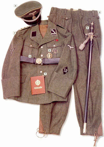 German Uniforms of WWII plus a reference guide for Vallejo