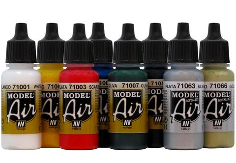 Vallejo Model Air paints for airbrushing