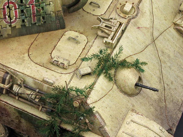 Weathering Effects on Scale Model Tanks AFVs